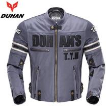 Лето мотоциклетная куртка Духан сетка ткань мотогонщиков чистая куртка дышащая Мотокросс Одежда с протекторами