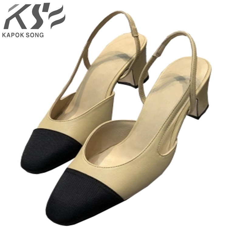 women pumpus pearl shoes sheepskin leather summer sandals luxury brand designer women comfortable sole shoes
