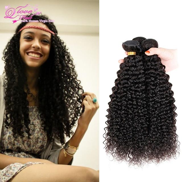7a Peruvian Kinky Curly Virgin Hair Peruvian Bohemian Curly Hair 4