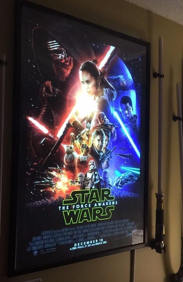 4 unids Cine en Casa aluminio Slim Snap iluminado Movie poster ...