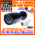 "Limited Real 1/3""Sony CCD 800/900TVL Effio Security Surveillance Cctv Camera Outdoor Waterproof IP66 Home Infrared Video Bracket"