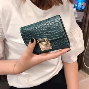 Female Wallet Purse Money-Bag Coin-Pocket Small Top-Quality Multifunction Women Fashion