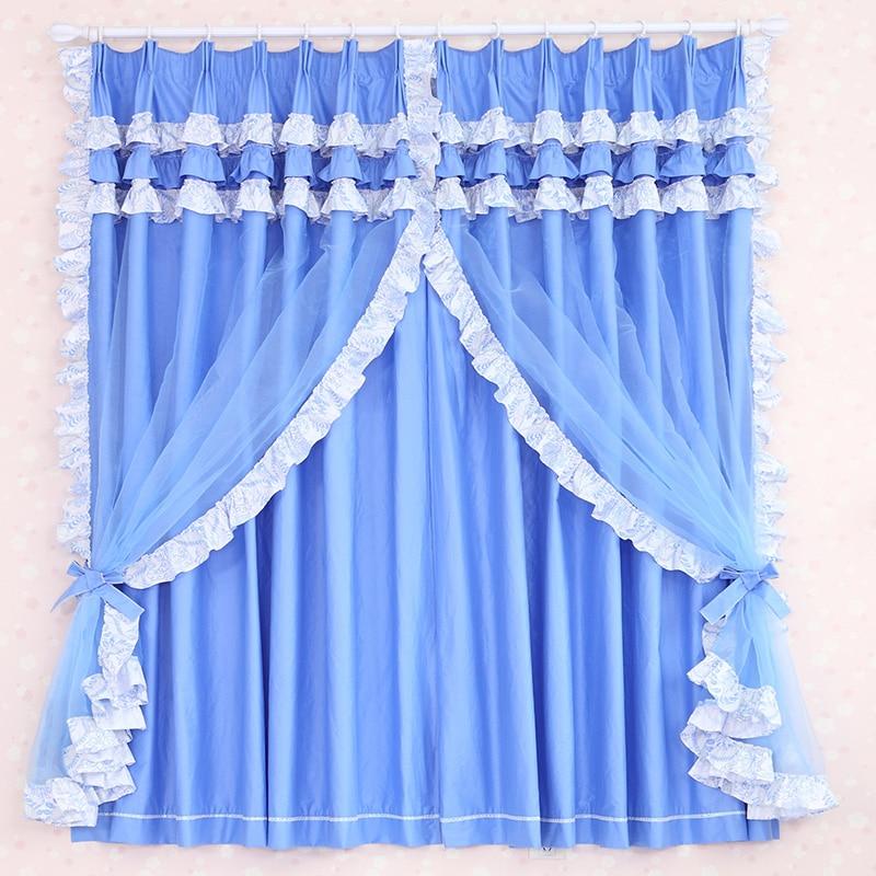 lujo nuevo marca ventanas modernas cortinas acabadas para cortinas de encaje saln cortinas azules nios