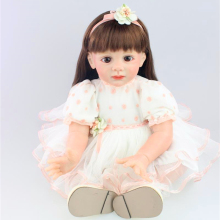 24 inch High Quality Collection Doll Toy Fridolin Lovely Childrens Dolls Toddler Reborn Dolls for girls