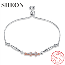 SHEON 925 Sterling Silver Luxury 12 Constellations Collection Bracelets Bangles For Women Jewelry Birthday Gift