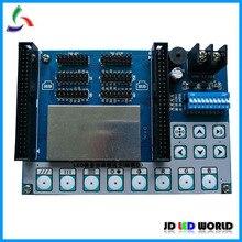V4.0 светодиодный дисплей экрана единица модули мульти-функциональный тест карты Поддержка одиночный/двойные Цвет/RGB светодиодный тестирование модуля, против старения, для ремонта
