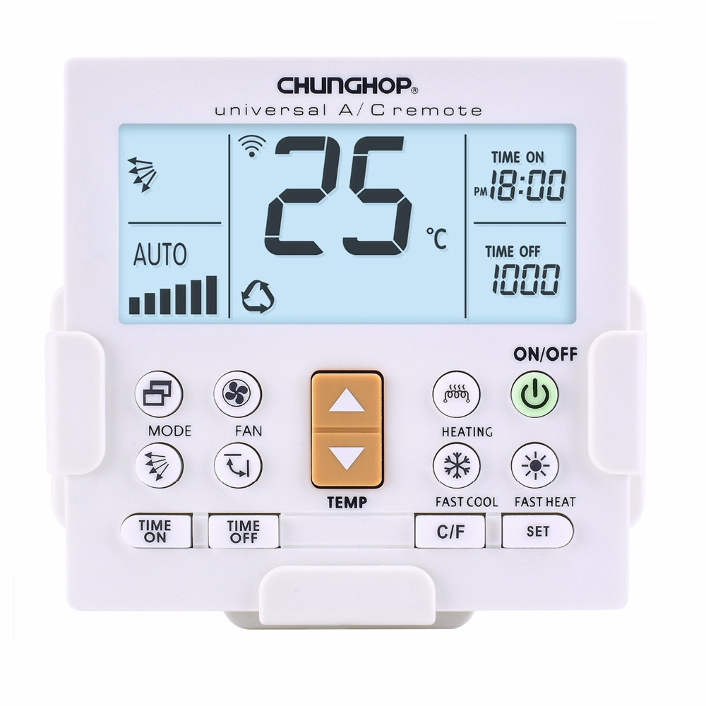 with back light Bracket remote holder Universal controller Air Conditioner air conditioning remote control CHUNGHOP K-650e 1pcs universal a c controller air conditioner air conditioning remote control chunghop k 2012e remote controller 1000 in 1