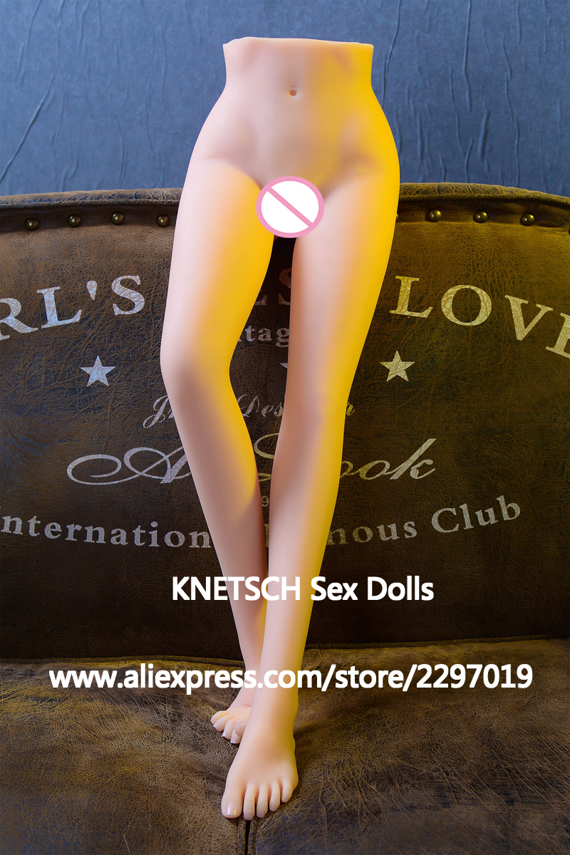 KNETSCH New Sexy Female Real Silicone Legs Sex Torsos Dolls Foot Fetish Toys Feet natural Skin
