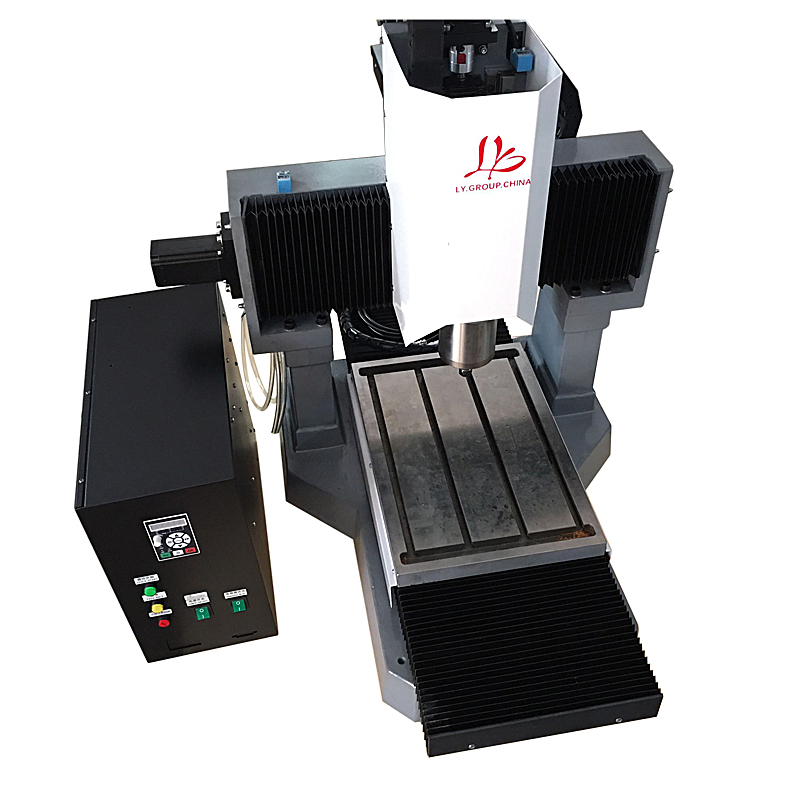 LY 3040 ferro fundido completo versão padrão 3 2.2KW máquina de gravura do CNC motor de passo eixo Z eixo 250 milímetros 220 V