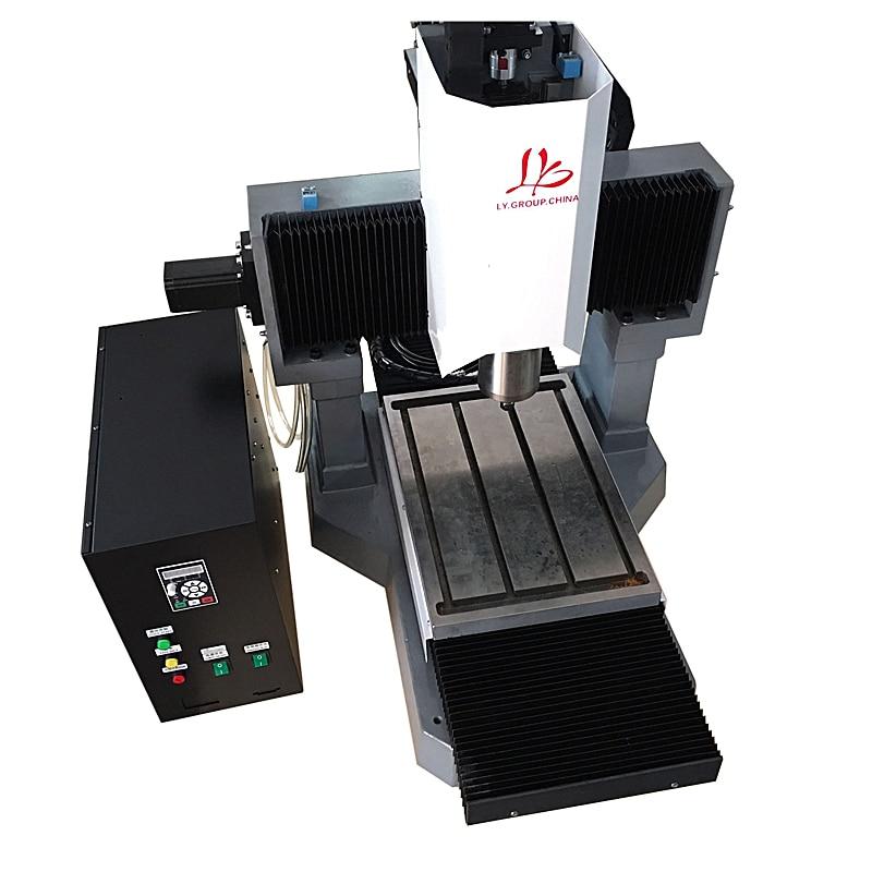 LY 3040 pieno ghisa 2.2KW macchina per incidere di CNC versione standard motore passo-passo 3 axis asse Z 250 millimetri 220 V
