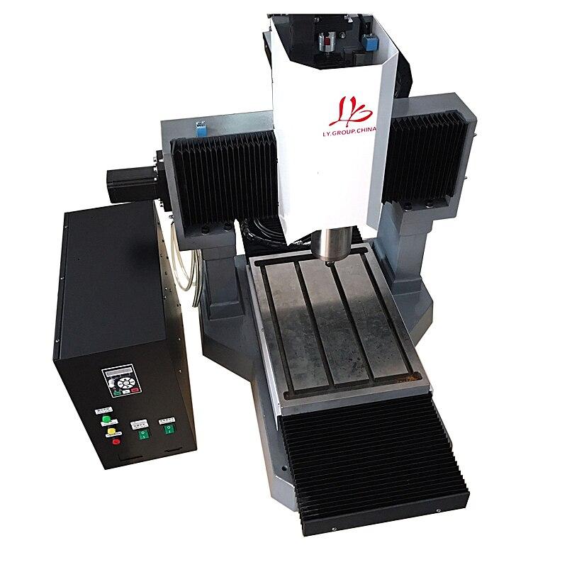 LY 3040 pleine fonte 2.2KW CNC machine de gravure moteur pas à pas version standard 3 axes Z axe 250mm 220 V