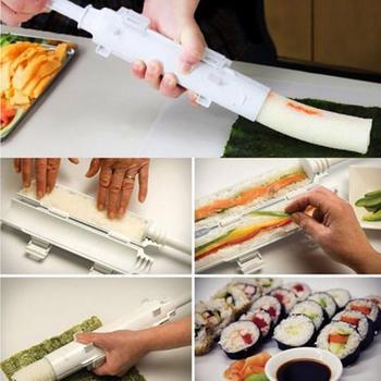 Sushi Roller Sushi maker Rotolo Stampo Fare Kit Sushi Bazooka Riso ...