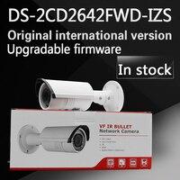 Free Shipping English Version Bullet Camera DS 2CD2642FWD I 4MP WDR Vari Focal Network IP Camera