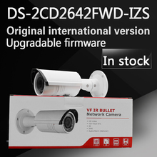 In stock english version Bullet Camera DS-2CD2642FWD-IZS, 4MP WDR Vari-focal Network IP Camera