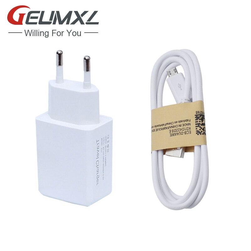 5V 2.4A USB Charger EU/US Plug Travel Wall charger + Micro USB Cable for Samsung Galaxy S3 S4 J1 J2 J3 J5 J7 A3 A5 A7 A8 A9 2015