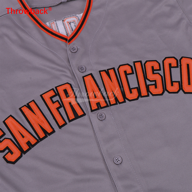 low priced 304a2 e7a67 san francisco giants 44 willie mccovey 1973 gray throwback ...