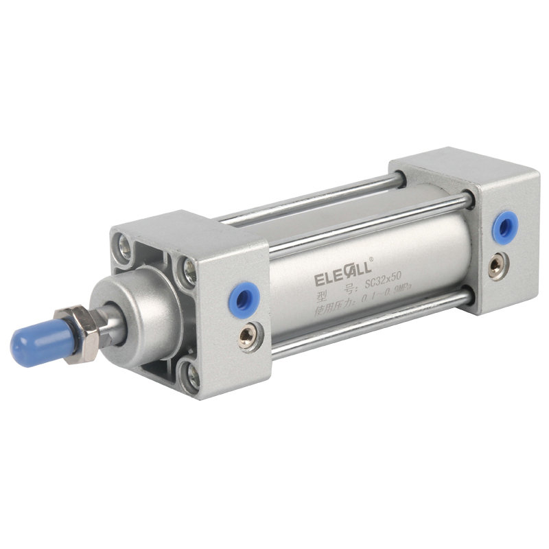 SC32*25 / 32mm Bore 25mm Stroke Compact Double Acting Pneumatic Air Cylinder compact air cylinders double acting pneumatic air cylinder sda32 25 32mm bore 25mm stroke