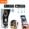 Wireless 4G WiFi 720P Video Door Phone Intercom Doorbell IP System Remote Unlock Alarm Monitor for Android IOS Phone APP