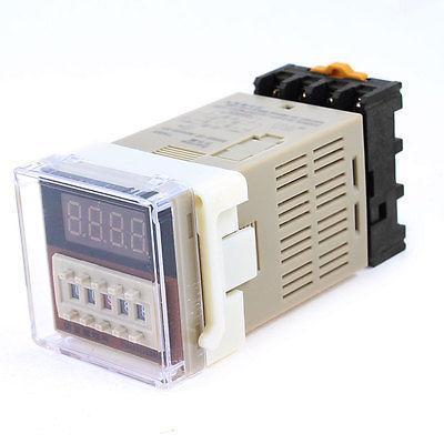 DH48S-2Z 8 Pins DPDT 2 Groups Contacts 0.01s-99H99M Programmable Timer H5CN Time Relay