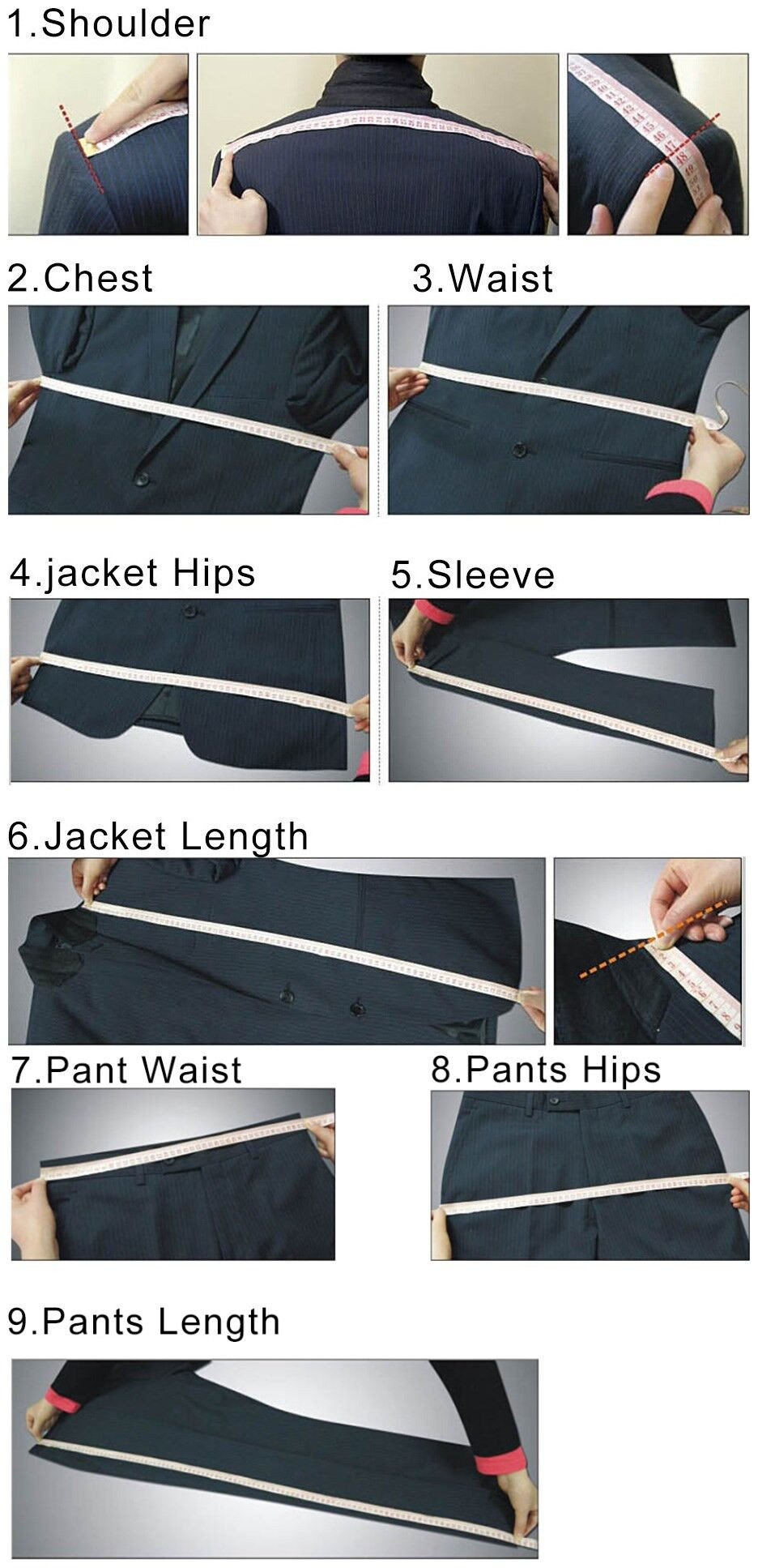 Classy Grooms Wedding Tuxedos Slim Fitted Personal Custom Suits Groomsmen Suit Two Pieces Prom Formal Suits (Jacket+Pant) 2