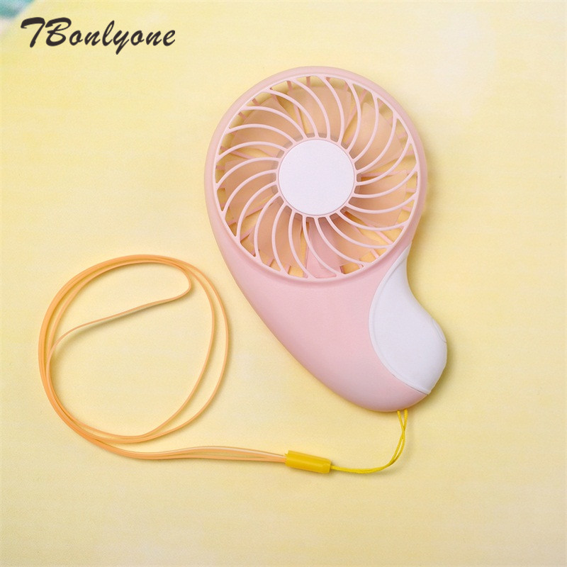 TBonlyone 800mAh 2 Speeds Pocket Fan for Outdoor Travel Noiseless Portable Fan Baby Fan Battery Rechargeable Fan USB Mini Fan