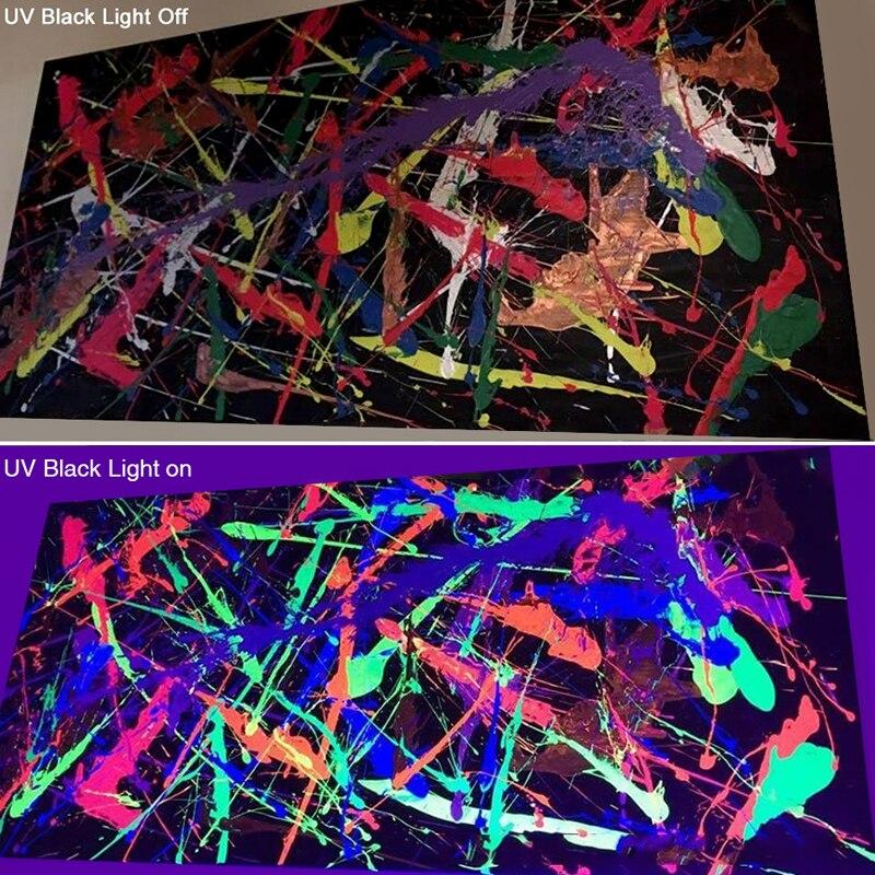 12 LED Disco UV Violet noir lumières DJ 36 W Par lampe UV pour fête noël Bar lampe Laser scène mur rondelle Spot lumière rétro-éclairage - 4