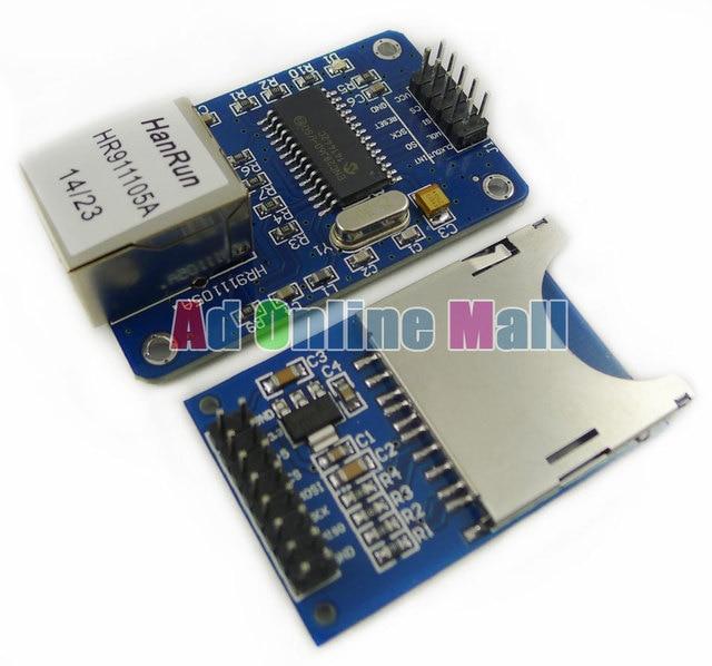 ENC28J60 spi schnittstelle Ethernet LAN Netzwerk Modul Schaltplan 51 ...
