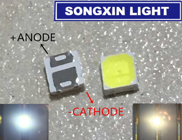 LED 70 45÷50lm 5730,PLCC2 SMD 3800-5500K weiß neutral  120° LL-R5730W-W5H-Q45 LE