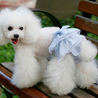 3 Color Pet Clothes Pet Teddy Dog Physiological Pants
