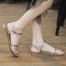 Dwayne Wedge Sandals For Women Plus Size Flat Shoes Summer 2019 Flip Flop Chaussures Femme Platform