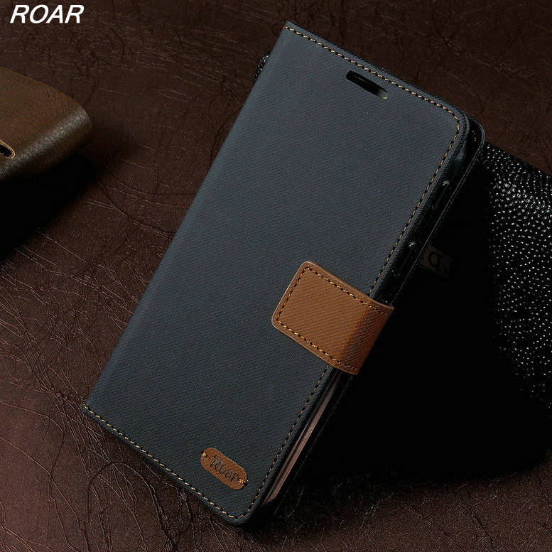 For Samsung Galaxy A7 2017 Cases ROAR KOREA Wallet Leather Flip Stand Phone Cover Case For Samsung Galaxy A7 2017 A720