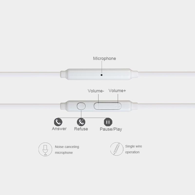 Noise Cancelling Earphone Portable Wired In Ear Headset