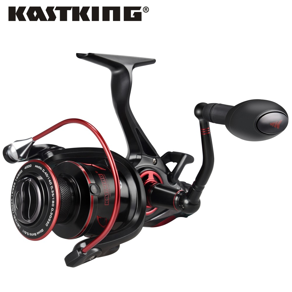 KastKing Sharky Baitfeeder III 12KG Drag Carp Fishing Reel with Extra Spool Front and Rear Drag System Freshwater Spinning Reel-in Fishing Reels from Sports & Entertainment    1