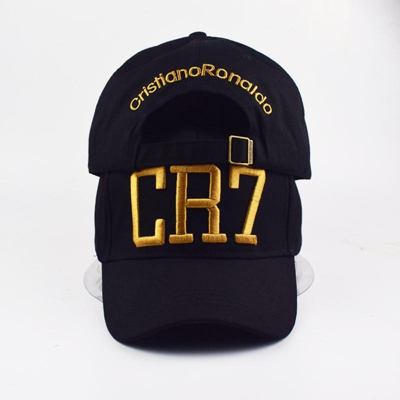 Fashion Style Cristiano Ronaldo CR7 3D Embroidery Baseball Caps Hip Hop Caps Cotton Adjustable Snapback Hats High Quality