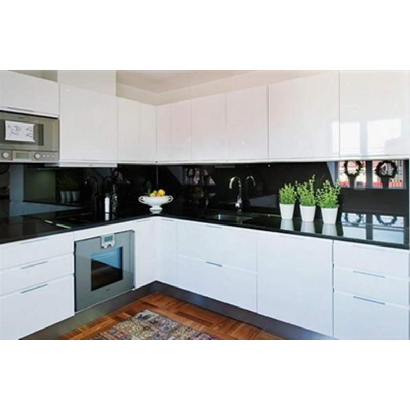 Kitchen Design High Gloss: Modern Design High Gloss White Kitchen-in Kitchen Cabinets