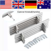 20Pcs 128mm Modern Pomo Puerta Furniture T Bar Handle Pull Knob Kitchen Door Cabinet Hardware Handle