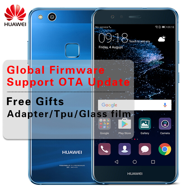 "Global Firmware Huawei P10 Lite 4GB 64GB Android 7.0 Smart Phone 4G LTE Octa Core 5.2"" FHD 1920X1080 Fingerprint OTA Cellphones"
