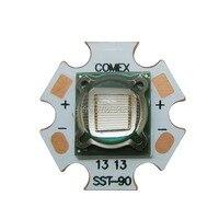 SST90 SST-90 로얄 블루 450NM의-455NM 3.2-3.4 볼트 5-7A 높은 전원 LED 에미 램프 빛 교체 Luminus의 전구 램프
