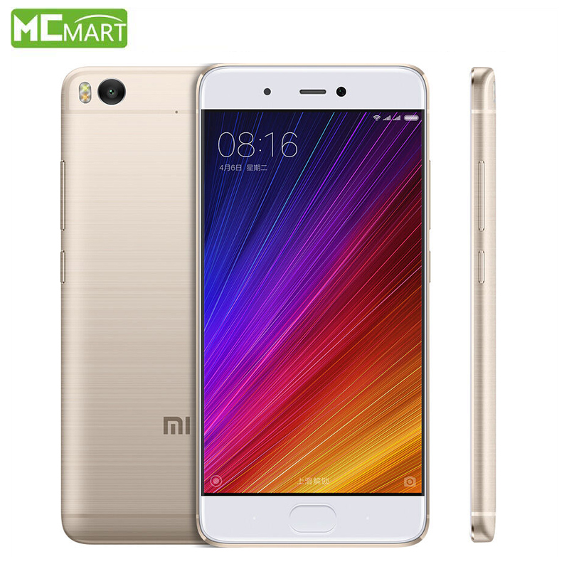 Original Xiaomi Mi5s Mi 5S 4GB RAM 128GB ROM Mobile Phone Snapdragon 821 QuadCore 5.15″ 1920×1080 Cellphone Sense ID Fingerprint