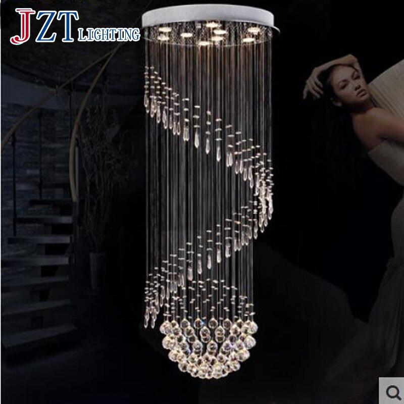 10 Best Of Modern Stairwell Pendant Lighting: T New Luxury Modern Crystal Pendant Light For High Rise