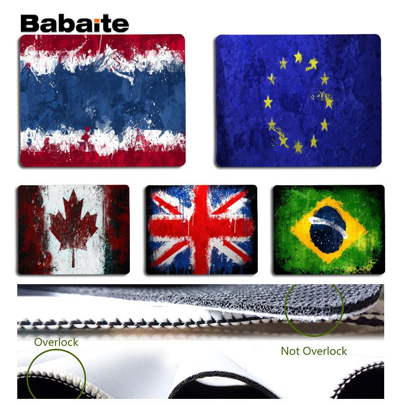 Babaite My Favorite Banner theme mouse pad gamer play mats Size for 18x22cm 25x29cm Rubb ...
