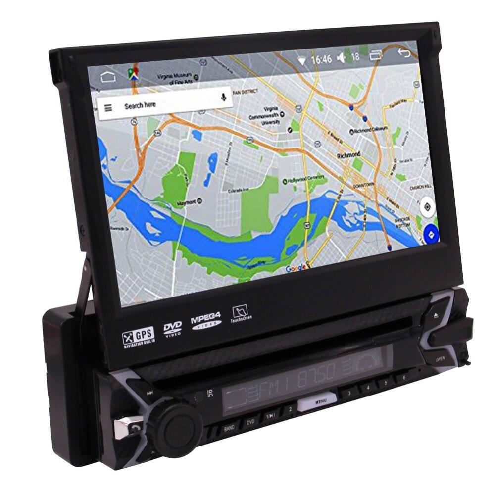 Сенсорный экран Headunit приемник Встроенный микрофон, громкой связи ответа AM/FM радио CD/DVD автомобильная аудиосистема беспроводной пульт диста