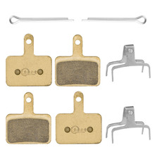 CHOOSE Full-Metal Disc Brake Pads For SHIMANO ALIVIO / NEXAVE ACERA Tektro Bike Parts 4 Pairs