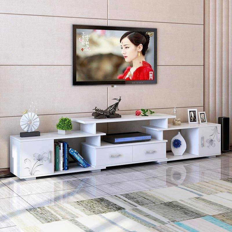 Entertainment Center Support Ecran Ordinateur Bureau Computer Meja De Wood Meuble Monitor Living Room Furniture Mueble Tv Stand