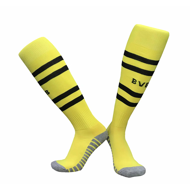 NO Logo 18-19 Season EUR Football Match Training Compression Knee Sport Socks Men Thick Bottom High Stocking Kids Soccer Socks все цены