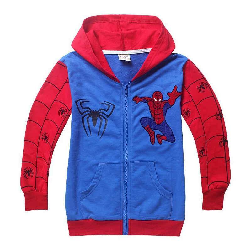 Retail-New-Style-Spiderman-Clothes-2017-Spring-Autumn-children-hoody-boys-hoodie-jackets-Kids-cartoon-spiderman-coat-4