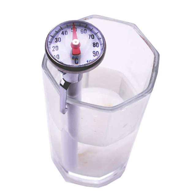 US $15 5 |Mini needle food thermometer, which reads the calibration line  food thermometer, free shipping-in Temperature Gauges from Home & Garden on
