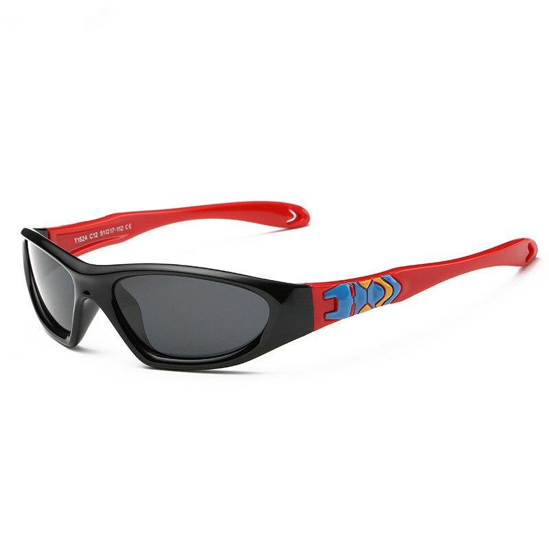 6Colors Children Polarized Sunglasses Kids Soft Flexible Eyewear Boys Girls Sporting Sun Glasses Free Shipping