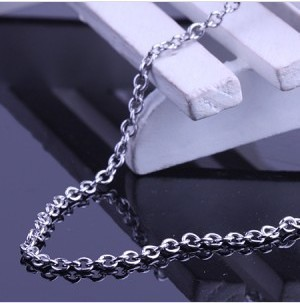free shipping titanium jewelry steel jewelry O Cross chain necklace pendant with chain fashion jewelry wholesale price BH-001