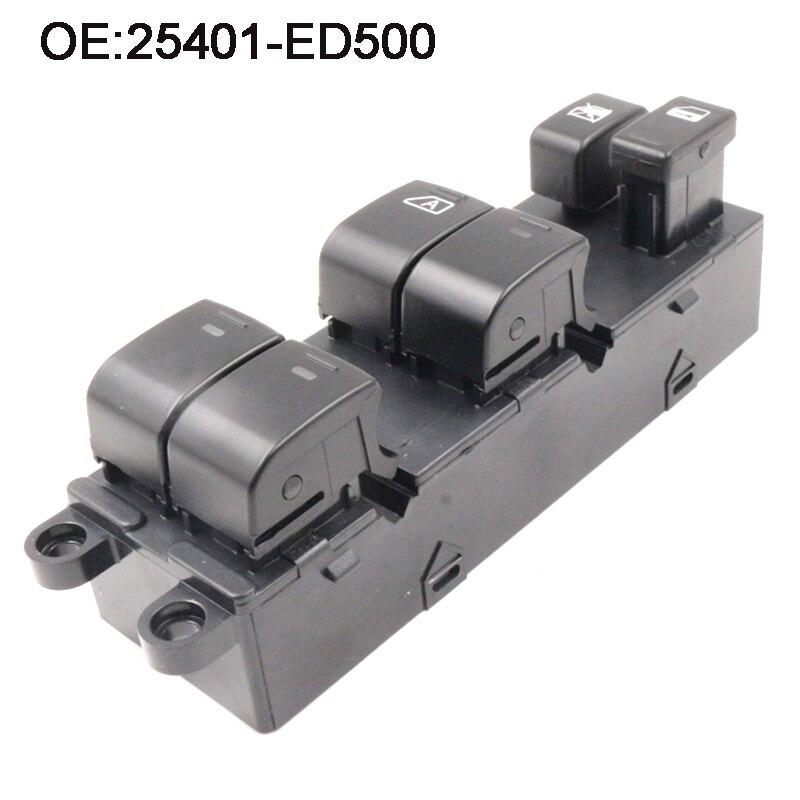 OE# 25401-ED500 Electric Window Control Switch For Nissan Versa 2007-2010